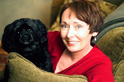 Valerie Young and her wonder dog,
