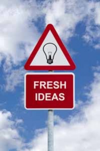 bigstockphoto_Fresh_Ideas_Sign_In_The_Sky_2910135