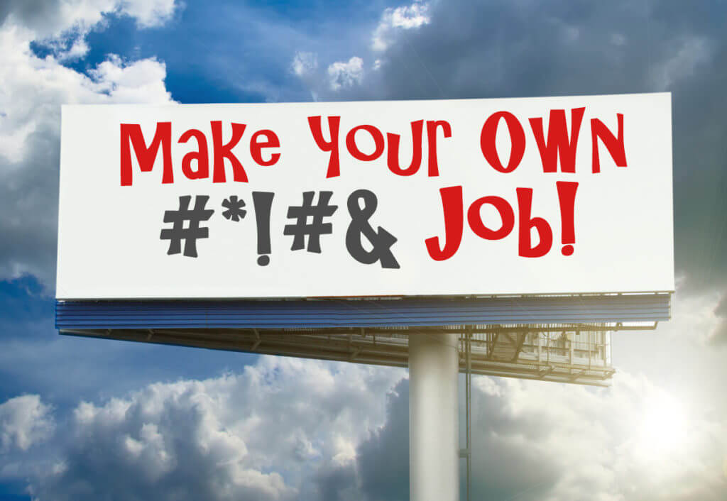 billboard-MakeYourOwnJob