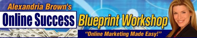 Alexandria Brown's Online Success Blueprint Workshop