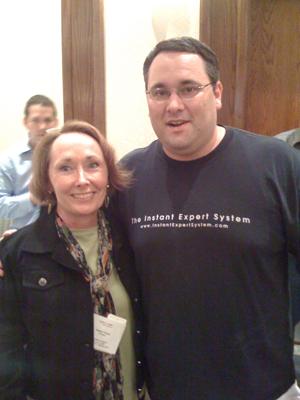 Valerie Young and Matt Bacak